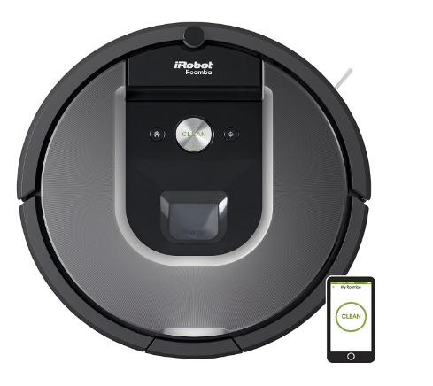 Mas de un 20% de descuento en el robot aspirador iRobot Roomba 960 en Amazon España con motivo del Black Friday 2016