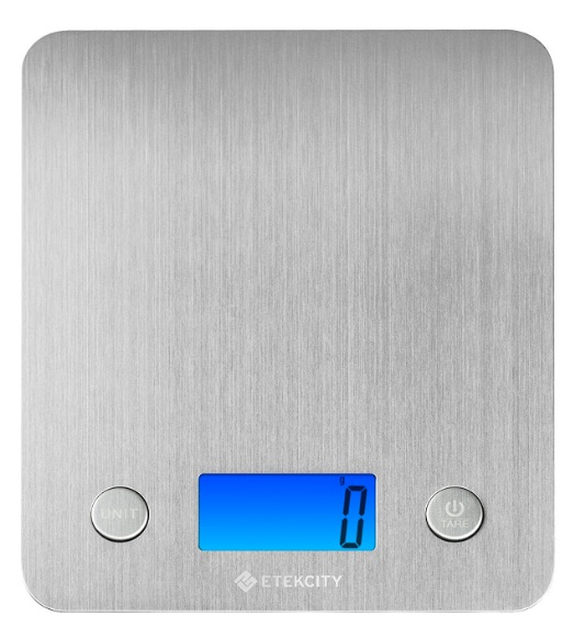 Etekcity Báscula Digital para Cocina, 5 kg