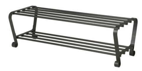 Perchero y zapatero Portis de Ikea