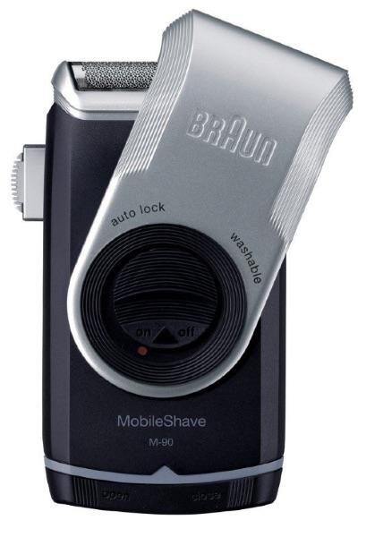 Braun - Afeitadora de Viaje M90