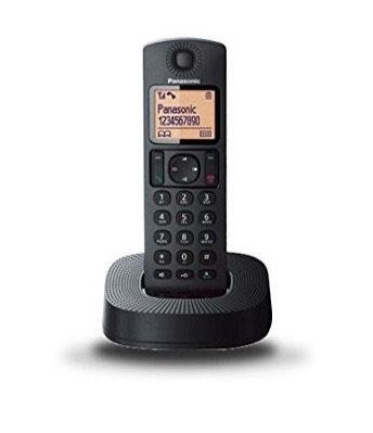 Panasonic KX-TGC310SPB, un teléfono inalámbrico digital (DECT Single, identificación de llamada entrante)