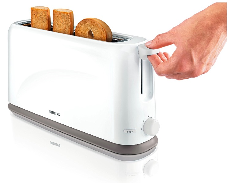 Philips HD2598/00 - Tostadora Daily Collection, 1150 W